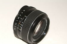 Asahi Pentax Takumar-SMC f1.4 50mm fast prime lens