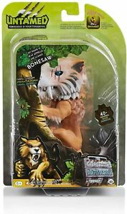WowWee Fingerlings Saber Tooth Tiger Bonesaw Bronze Figure Interactive Toy Sound