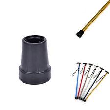 Heavy Duty Ferrules 25mm Black reinforced Suitable for Neo Walk Sticks