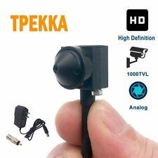 Mini Spy Hidden Camera Hd 1000Tvl Small Portable Wired Spy Camera Pinhole Conver