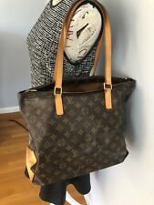 Authentic Louis Vuitton Monogram Cabas Mezzo
