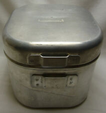 1966 COLEMAN SPORTSTER NO 502 CAMP STOVE    IN ALUMINUM CARRYING CASE
