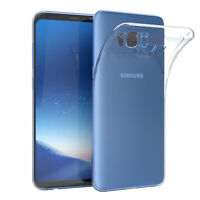 EAZY CASE Samsung Galaxy S8 Plus Hülle Silikon Cover Handy Tasche Transparent
