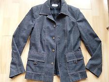 NEUVE veste cintrée grise laine effet feutré ANTONELLE Taille 38 à pressions