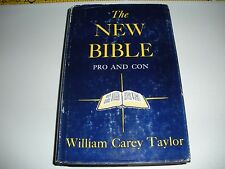 """Very Rare """"The New Bible Pro and Con"""" Jehovah's Witnesses Watchtower Research"""