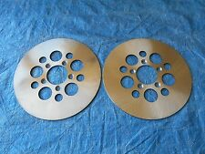 "PAIR FRONT 10"" BRAKE ROTORS HARLEY FX 1978-83, FXR 1982-83, XL 1978-83 44137-77A"