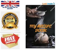 My Recipe Book Write your recipes Organize Your Cooking Blank Recipe Journal UK