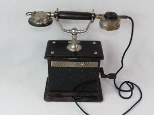 alter Tischfernsprecher Kurbeltelefon Telefon OB 05 ,ab 1905,Schuchhardt, antik