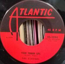 The Clovers Doo Wop 45 Love Love Love / Your Tender Lips Orig Sleeve Atlantic