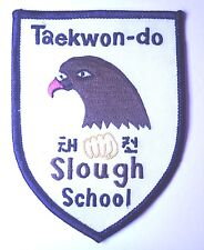 Taekwondo Taekwon-Do Tae-Kwon-Do SLOUGH Martial Arts Uniform embroidered BADGE