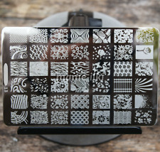 Large Nail Art Image Stamp Template Plates Polish Stamping Manicure Image (D13)