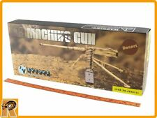 US Browning M2 Machine Gun Set (Desert) -1/6 Scale - New in Box ZY Toys Figures