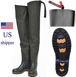 Hip Wader with Boots for Fishing, Hunting, Farming, Gardening, Washing
