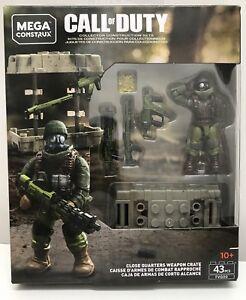 Mega Construx Call Of Duty Lot  Close Quarters Weapon Crate FVG00