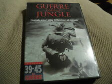 """DVD """"GUERRE DANS LA JUNGLE (Britanniques / Japonais)"""" Collection 39-45 la guerre"""