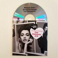 EMMA DE CAUNES : LES HISTOIRES D'A ♦ CD Single Promo ♦