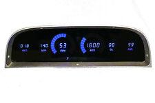 CHEVY TRUCK DIGITAL DASH PANEL For 1960-1963 Gauges GMC Intellitronix Blue LEDs!