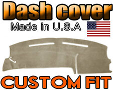 Fits 2000-2006 FORD  TAURUS  DASH COVER MAT  DASHBOARD PAD  / BEIGE