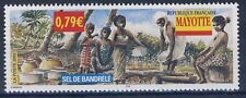 STAMP / TIMBRE DE MAYOTTE N° 130 ** SEL DE BANDRELE