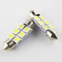 Nuevo 2X Bombillas 3 LED SMD 36mm Canbus Luz Interior del Coche Bombilla LED