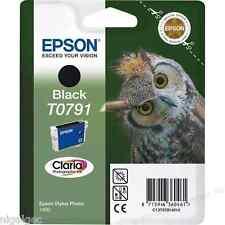 EPSON STYLUS PHOTO 1400 BLACK INK T0791 TO791 OWL