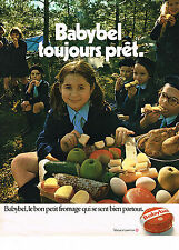 PUBLICITE ADVERTISING  1971   BABYBEL   fromage