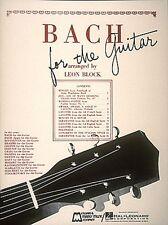 Bach for Guitar Sheet Music Guitar Solo Guitar Book NEW 000006329