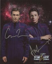 Connor Trinneer & Dominic Keating ++ Autogramm ++ Star Trek ++ Autograph
