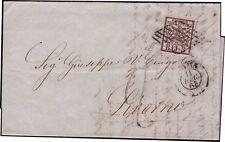 STATO PONTIFICIO 1863 - 5 b. n. 6 x LIVORNO TASSATA 2