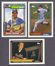 1992 TOPPS LOT COMPLETE YOUR BASE SET & GOLD & GOLD WINNERS 25 PICKS