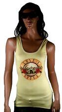 Amplified Offic. Guns N' Roses Drum Logo Rock Star Vintage Print Tank Top Top L