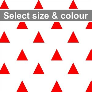Triangles Removable Wall Vinyl Stickers Spot Decal Nursery Kids