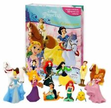 DISNEY PRINCESSES GREAT ADVENTURES BUSY BOOK - STORY 12 FIGURES AND A PLAYMAT