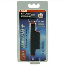 Fluval Razor+ Medium 2 in 1 Algae Magnet Scrapper Scrubber