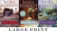 LARGE PRINT EDITIONS Nora Roberts COUSINS O'DWYER TRILOGY Collection Books 1-3