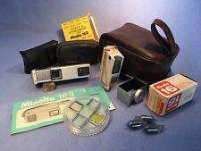 Minolta 16 II Vietnam Era Mini Spy Camera Package