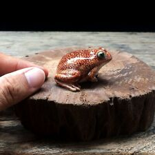 New Bullfrog Ceramic Figurine Collectibles Hand Painted Decor Frog Gift Charm