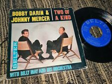"""BOBBY DARIN&JOHNNY MERCER Two of a kind +3 EP 45 7"""" 1961 *SPAIN*"""