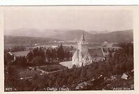 Postcard - Balmoral - Crathie Church (Adelphi Series)