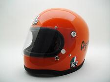 VINTAGE EARLY AGV AGO ITALIAN Helmet Motorcycle Giacomo Agostini Rider Racing