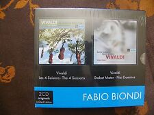 2CD FABIO BIONDI - Vivaldi / Stabat Mater - David Daniels / Europa Galante(2001)