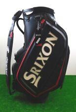 "Srixon 2021 Tour Staff Golf Bag Black/Red/White 5-Way 9.5"" Top New"