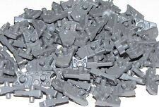 Lego Lot of 100 New Dark Bluish Gray Minifig Weapon Triggers for Gun Mini Blast