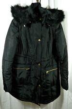 Kimi + Kai Mina 2-in-1 Hooded Maternity Coat Black Size Small
