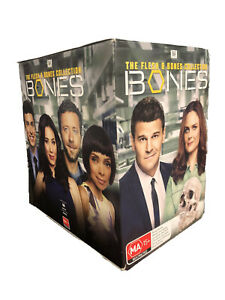 """BONES THE FLESH AND BONES 1-12 COMPLETE COLLECTION DVD BOX SET 66 DISC R4 """"NEW"""""""