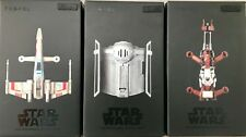 STAR WARS Quadcopter Propel Drones Collector's Edition COMPLETE FULL SET 3 NEW