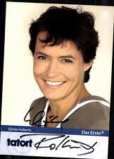 Ulrike Folker Tatort  Autogrammkarte Original Signiert## BC 4305