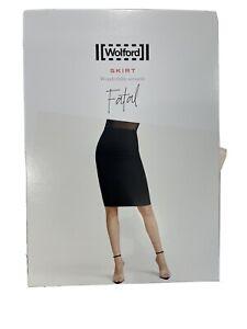 Brand New Wolford Fatal Skirt Black Medium RPR£99