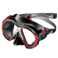 Atomic Aquatics subframe mask scuba snorkel equipment gift diver REDBlack MEDIUM