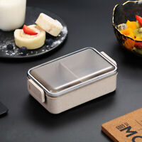Leak-proof Wheat Straw Lunch Box Food Storage Container Microwave Heating